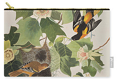 Baltimore Oriole Carry-all Pouch by John James Audubon