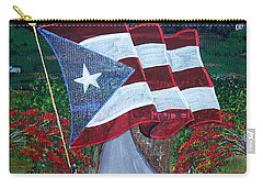 Bandera De Puerto Rico Carry-all Pouch