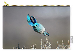 Carry-all Pouch featuring the photograph Bank Right by Mike Dawson
