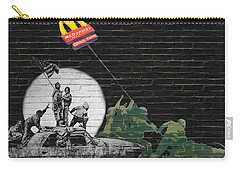 Banksy - The Tribute - New World Order Carry-all Pouch
