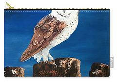 Barn Owl Carry-all Pouch by Jean Walker