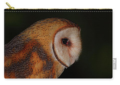 Barn Owl Profile Carry-all Pouch