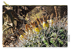Barrel Cactus Carry-all Pouch
