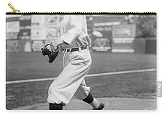 Baseball Star Walter Johnson Carry-all Pouch by Underwood Archives