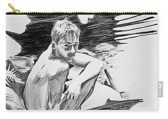 Carry-all Pouch featuring the painting Bathed In White Light by Rene Capone