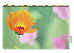 Be Beautiful Carry-all Pouch by Robin Dickinson