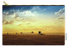 Beach Pier Carry-all Pouch by Joseph Hollingsworth