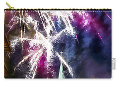 Beautiful Fireworks In Budapest Hungary Carry-all Pouch