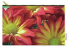 Carry-all Pouch featuring the photograph Beautiful Trio by Allen Beatty