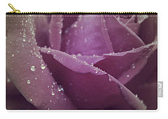 Carry-all Pouch featuring the photograph Beauty In The Rain by The Art Of Marilyn Ridoutt-Greene