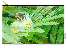 Bee Happy Carry-all Pouch by Russell Keating