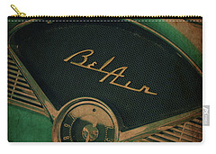 Carry-all Pouch featuring the photograph Belair Dashboard by Joel Witmeyer