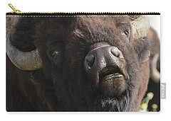 Bellowing Bull Bison Carry-all Pouch