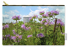 Carry-all Pouch featuring the photograph Bergamot by Scott Kingery