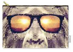 Bigfoot In Shades Carry-all Pouch