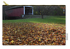 Billy Creek Bridge Carry-all Pouch by Joanne Coyle