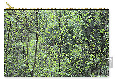 Birch Leaves Carry-all Pouch by Dariusz Gudowicz