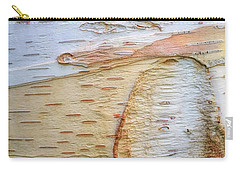 Birch Tree Bark Carry-all Pouch by Todd Breitling