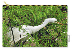 Bird In A Bush Carry-all Pouch
