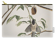 Black Capped Titmouse Carry-all Pouch