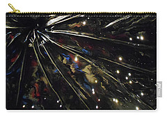 Carry-all Pouch featuring the mixed media Black Hole by Angela Stout