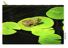 Carry-all Pouch featuring the photograph Blending In by Greg Fortier