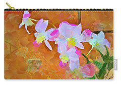 Carry-all Pouch featuring the painting Bloom by Wayne Pascall