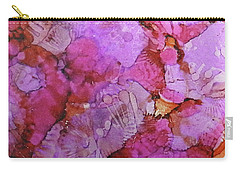 Carry-all Pouch featuring the painting Blossoms Ink #1 by Sarajane Helm