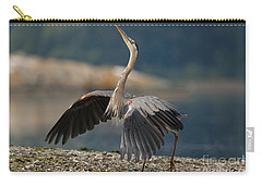 Blue Heron Dance Carry-all Pouch