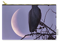 Blue Heron Moon Carry-all Pouch