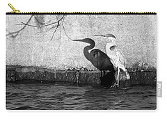 Blue Heron Shadow Carry-all Pouch