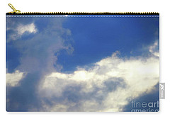Carry-all Pouch featuring the photograph Blue by Jesse Ciazza