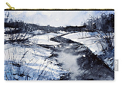 Blue Carry-all Pouch by Judith Levins
