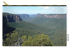 Blue Mountains Carry-all Pouch by Carla Parris