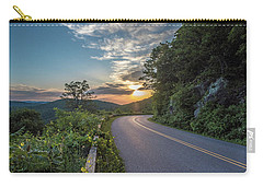 Blue Ridge Parkway Morning Sun Carry-all Pouch