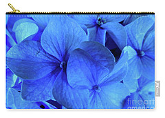 Carry-all Pouch featuring the photograph Blue by Nancy Patterson