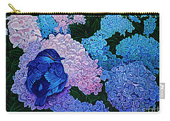 Bluebird Carry-all Pouch by Michael Frank
