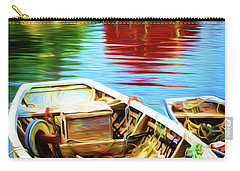 Boats Carry-all Pouch by Andre Faubert