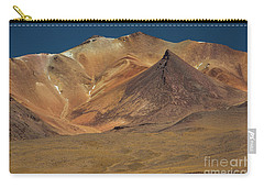 Carry-all Pouch featuring the photograph Bolivian Highland by Gabor Pozsgai