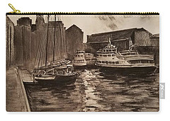 Boston Harbor Carry-all Pouch by Rose Wang