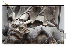 Bounded Devil Carry-all Pouch by Michal Boubin