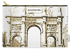 Brandenburg Gate, Berlin Germany, 1903, Vintage Image Carry-all Pouch