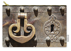 Brass Door Knocker Carry-all Pouch