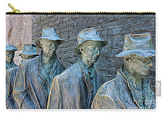 Bread Line Sculpture Carry-all Pouch