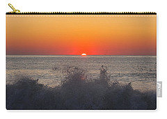 Breaking Wave At Sunrise Carry-all Pouch