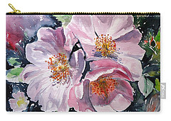 Carry-all Pouch featuring the painting Briar by Kovacs Anna Brigitta