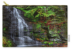 Carry-all Pouch featuring the photograph Bridal Veil Falls by Raymond Salani III