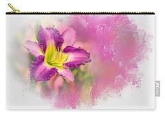 Bright Lily Carry-all Pouch