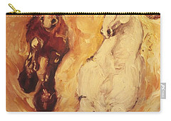 Bringers Of The Dawn Section Of Mural Carry-all Pouch