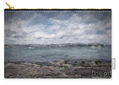 Carry-all Pouch featuring the photograph Brixham Harbour by Patricia Hofmeester